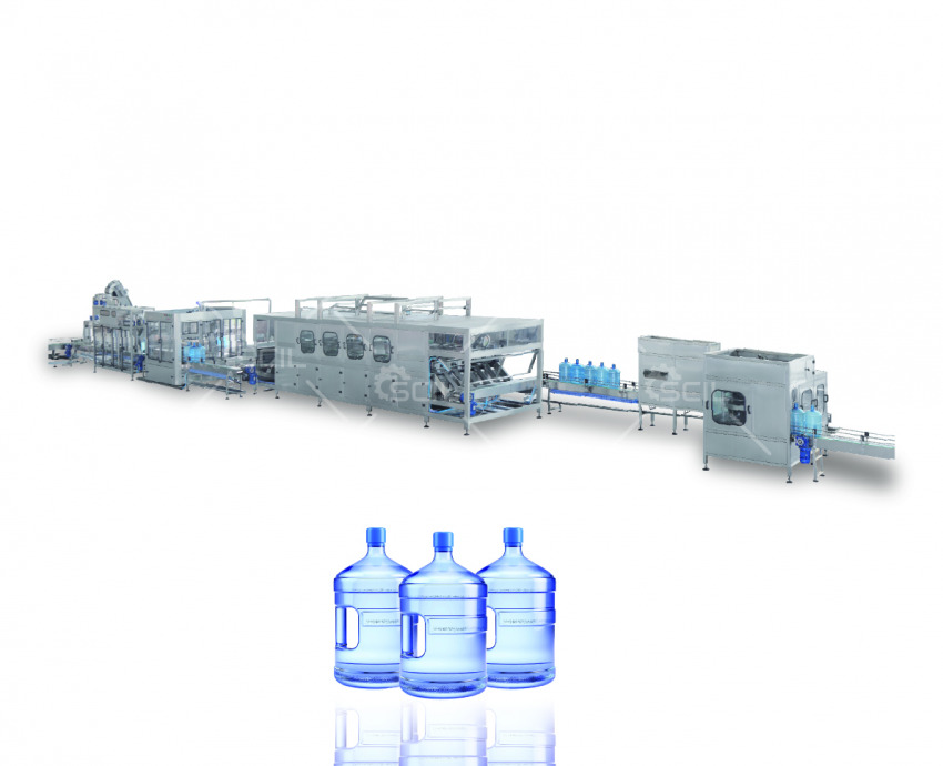 5 GALLON WATER FILLING LINE