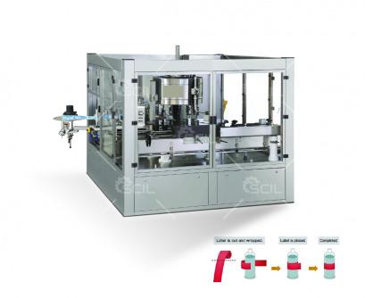 Rotary Hot Melt Labeling Machine