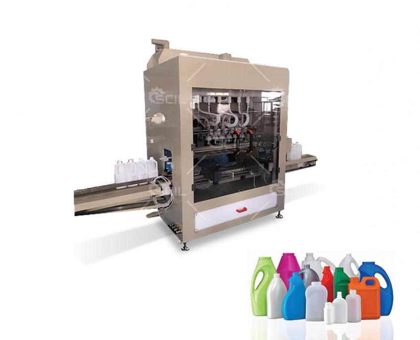 Anti corrosive liquids filling machine