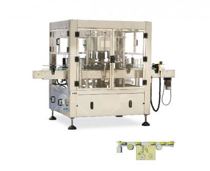 Rotary Self-Adhesive Label Machine